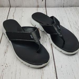 Cole Haan ZeroGrand Thong Sandals Black 10.5B